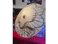 Chinese style waxed paper parasol