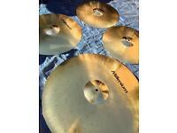 Millenium Sabian Solar cymbal set