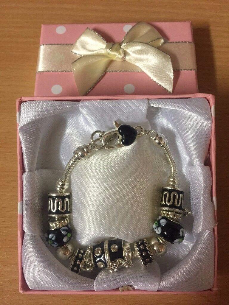 5x Charm Bracelets brand new Job Lot Car Boot Wholesale FREE POSTAGE