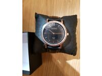 LUKE HENRY UNISEX ROSE GOLD ASHBROOKE 38MM WITH BLACK DIAL (BRAND NEW). ALSO IN BROWN AND GREY.