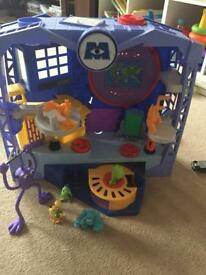 Imaginext monsters inc scare flor