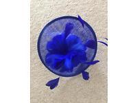 Quiz Royal Blue Fascinator