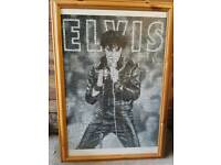 Completed Elvis jigsaw puzzle