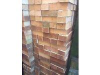 House bricks, about 450 New. Hatch Warren.