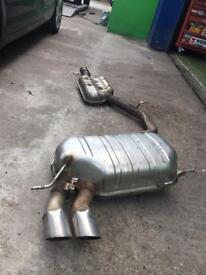 Audi s3 exhaust system