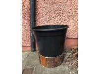 """LARGE XXL 45 litre plant pot - 48cm (19"""") diameter - NEW"""
