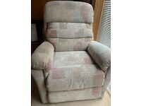 Recline to stand chair