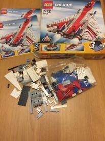 Lego 4953 Fast Flyers / Speedy Flyers 3in 1. Complete and Boxed with Instructions