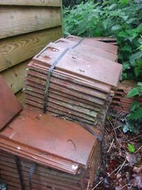 100 Roof Tiles - Sandtoft 20/20 tiles - Red