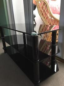 Sturdy Glass TV Stand