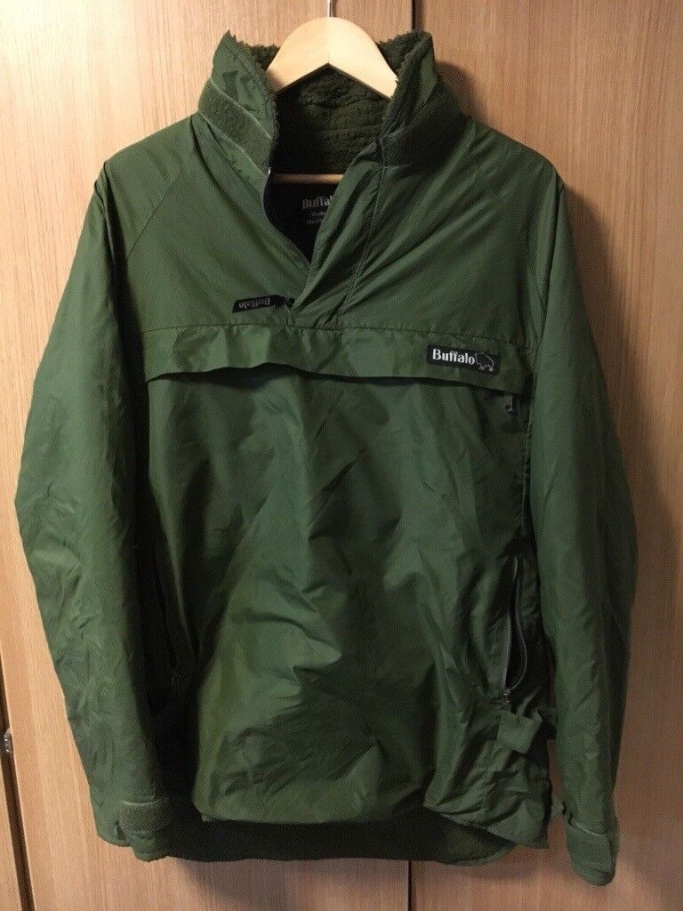 Buffalo Special 6 Pertex Military Windproof Shirt Olive Green NEW