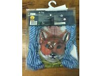 Mr. Fox costume 7-8 years old