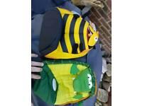 2 Child's travel rucksacks