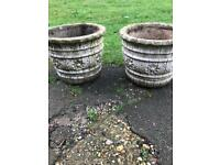 Matching pair of pots