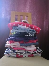 girl's clothes bundle - size 2-3 years