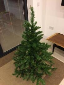 4 ft tall artificial Christmas tree