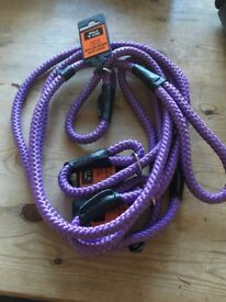 3 purple slip leads brand new