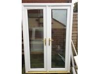 French doors patio doors