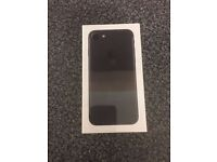 IPHONE 7 / 32GB / BLACK / NEW BOXED