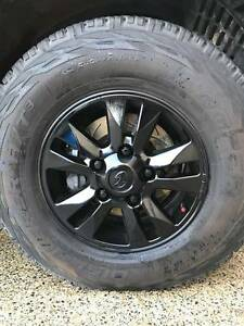 Landcruiser GXL Rims Any offer considered Mount Pleasant Melville Area Preview