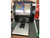 3 x Toshiba EPOS Touchscreen Till Epson Printer Scanner Scales Customer Display Cash Drawer