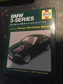 Haynes manual BMW 3-Series 91-99