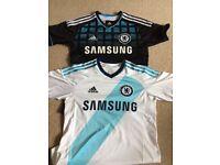 2 x Chelsea football shirts size 13-14