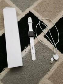 Apple watch series 1 white