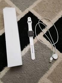 Apple watch series 1 white