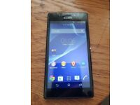 Sony Xperia M2 8Gb D2303 4G LTE Android Smartphone in Black unlocked