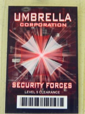 HALLOWEEN COSTUME PROP - ID/Security Badge (Umbrella Corporation) Security Force (Umbrella Corporation Halloween Costumes)