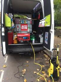Ford transit fully loaded cleaning pro valet van!
