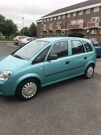 1.6 Petrol Meriva Excellent Working Condition