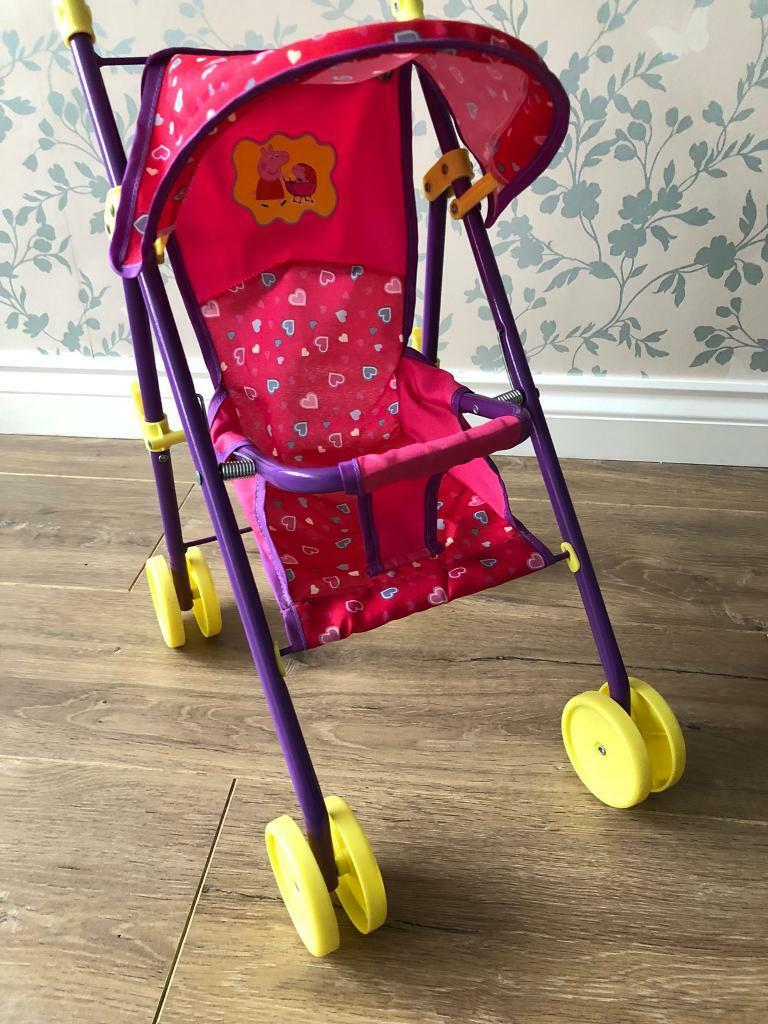 Peppa Pig pushchair