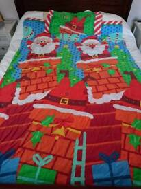Children's Christmas duvet cover and pillow case