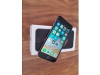 iPHONE 6S UNLOCKED IMMACULATE FULLY BOXED 16 GB GREY ONLY £200