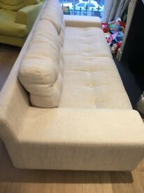 Sofa from Habitat-GREAT CONDITION, BEAUTIFUL, COMFY, STYLISH, LESS THAN A YEAR OLD! Need 2 sell soon