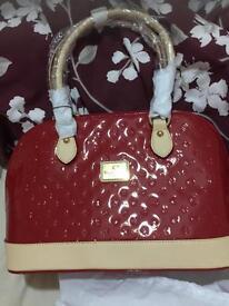 Beautiful designer bag red brand new