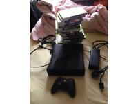 Xbox 360 slim 250gb and 26 games for trade or buy