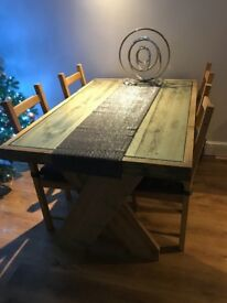 4 seat dining table and chairs