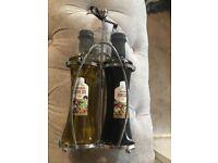 Oil and balsamic vinegar rack