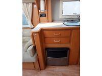 Island bed 4 berth Rallye Compass Caravan