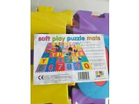 Soft play puzzle mats