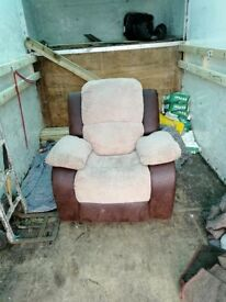 Sofa and reclineing chair