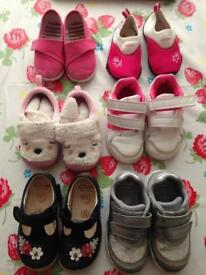 Girls Size 5/5.5F shoe bundle