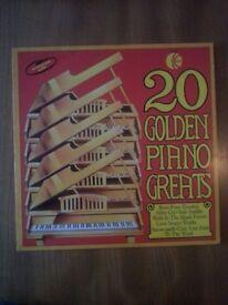 20 Golden Piano Greats