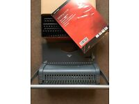 Binding Machine + Combs & Covers