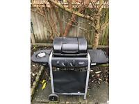 4 Burner Propane Gas BBQ with Side Burner