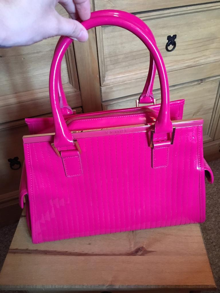 Ted Baker Hot Pink Bag In Peterborough Cambridgeshire