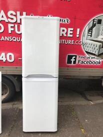 Indesit tall 50/50 fridge freezer couple of months old £170